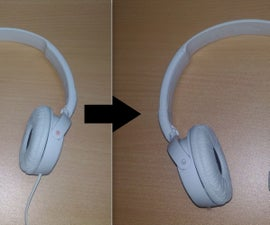 How to make wired headphones wireless DIY