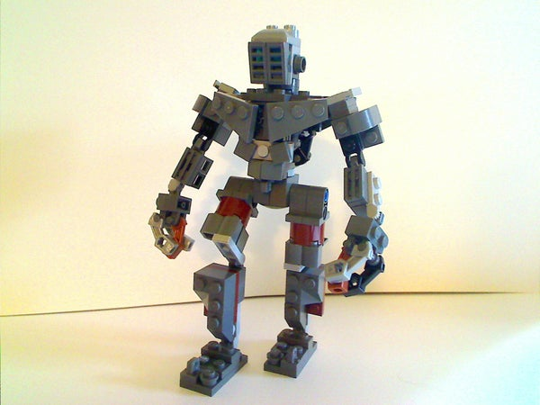 Real Steel ATOM Out of Legos