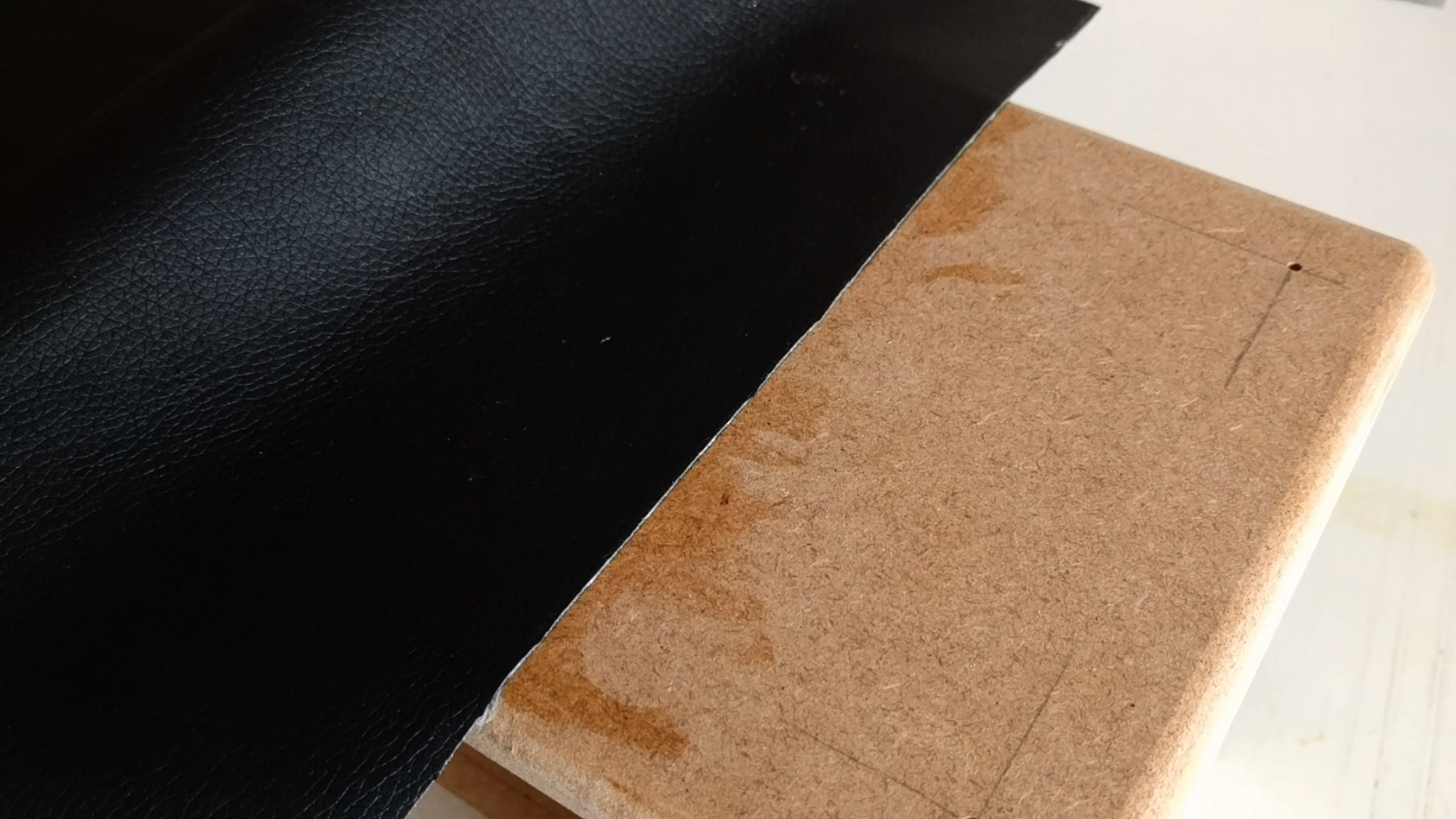 Picture of Applying the Leather Vinyl