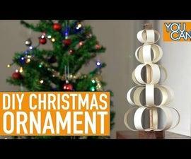 DIY Christmas Ornament Using Melamine Edge Banding