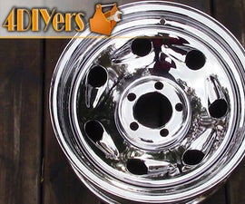 How to Polish Old Rust Stained Chrome Wheels