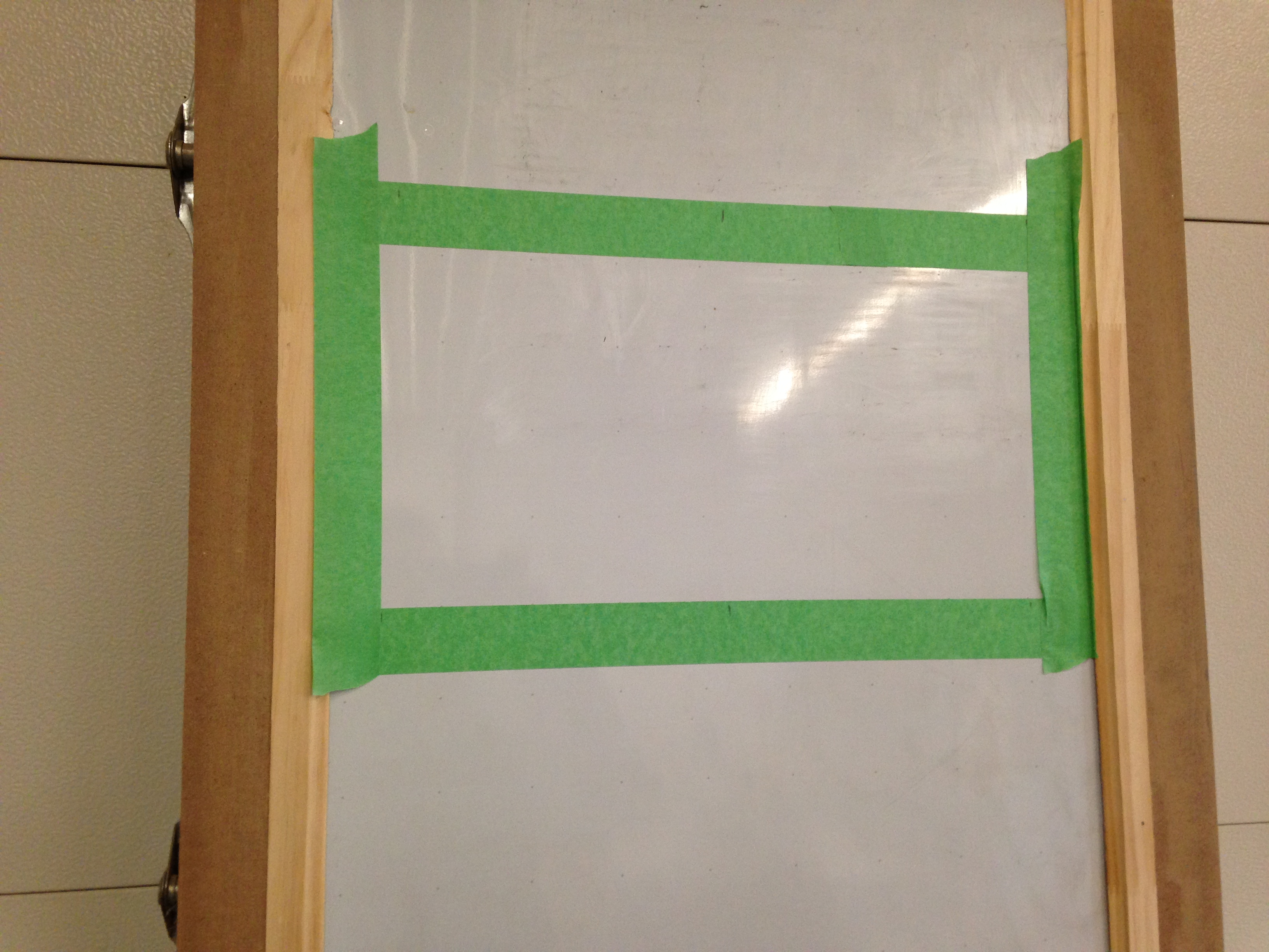 Picture of Door Assembly (dry Erase Board/buttons)