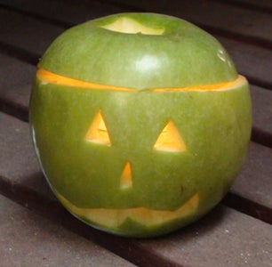 Apple Jack O Lantern