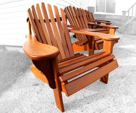 How to   Build the Ultimate Adirondack Chair