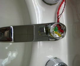 Low Cost Water Flow Sensor and Ambient Display