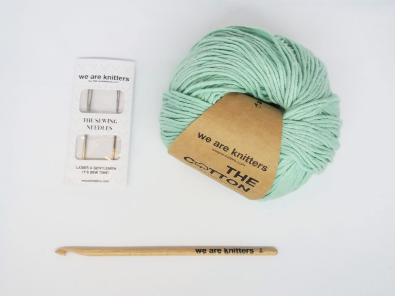 Picture of How to Seam Crochet Pieces Together With a Tapestry Needle