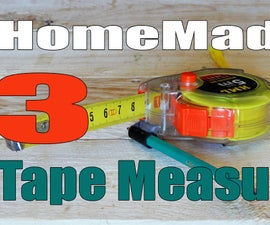 3 HomeMade Tape Measure Hacks / Tools / Tricks .