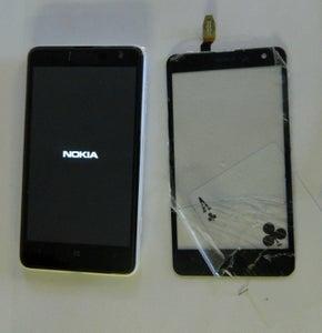 Replacing Broken Screen Glass