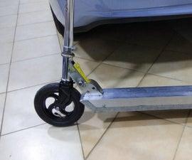 DIY E-scooter From Howerborad Motor