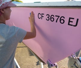 How to Recreate Boat Registration Numbers
