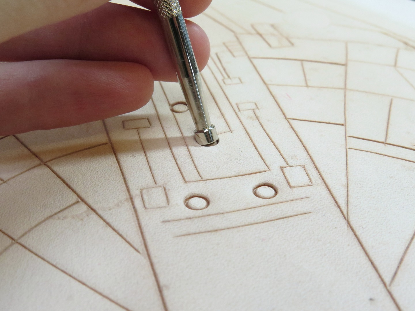 Picture of Tooling Part 2: Beveling and Stamping