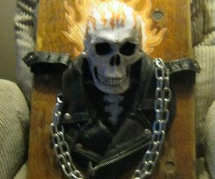 Ghost Rider 3D Art