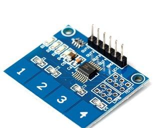 TTP224 Digital Touch Sensor Applications Using Arduino