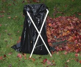 Folding PVC Lawn and Leaf Bag Holder