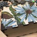 Wildflower Inked Recipe Box