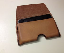 Leather IPhone Case (buckle)