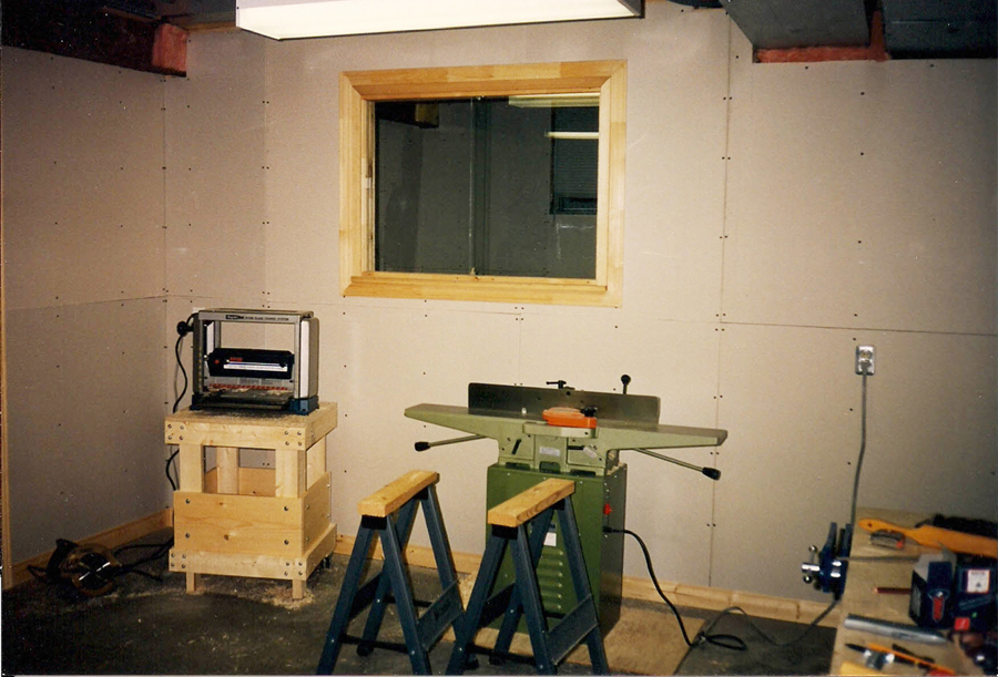 Picture of Basement Workshop