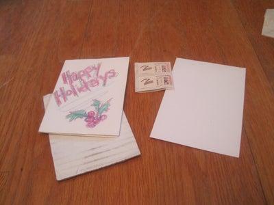Preparing and Sending Your Card