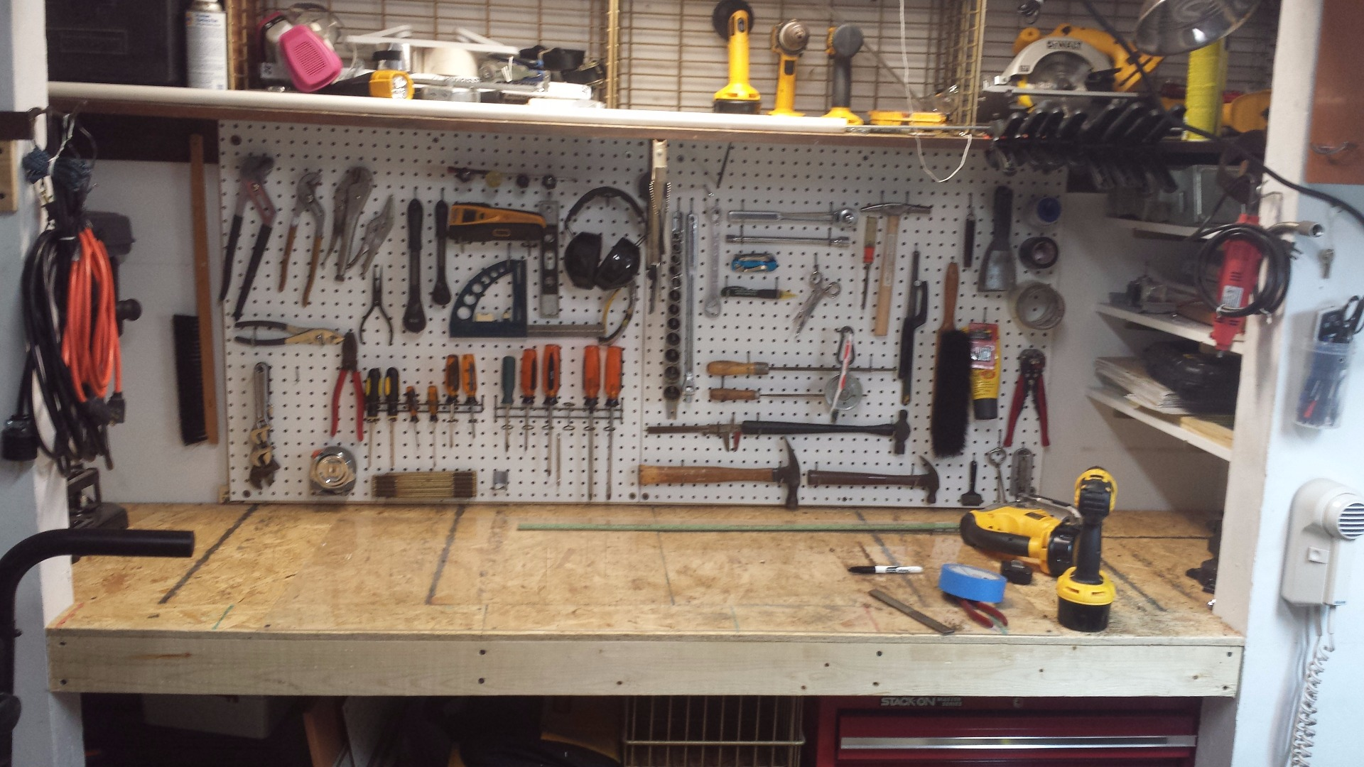 Picture of Workbench in Closet