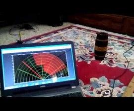 Making Radar Using Arduino, Ultrasonic sensor, and MATLAB