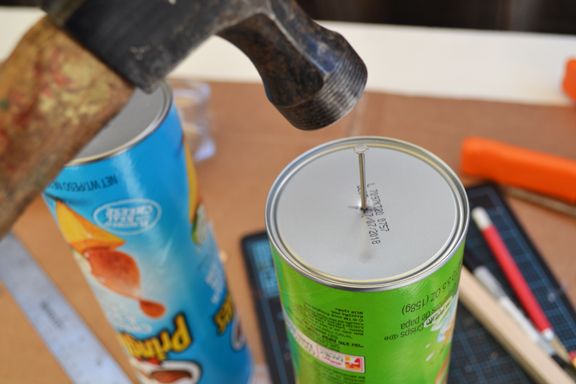 Picture of Secure the Wood to the Can