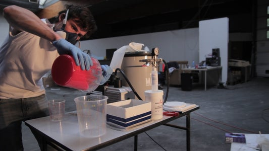 Casting the Silicone Mould