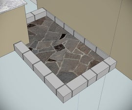 Luxurious Outdoor Shower - Part 1 [Natural Stone & Tiling]