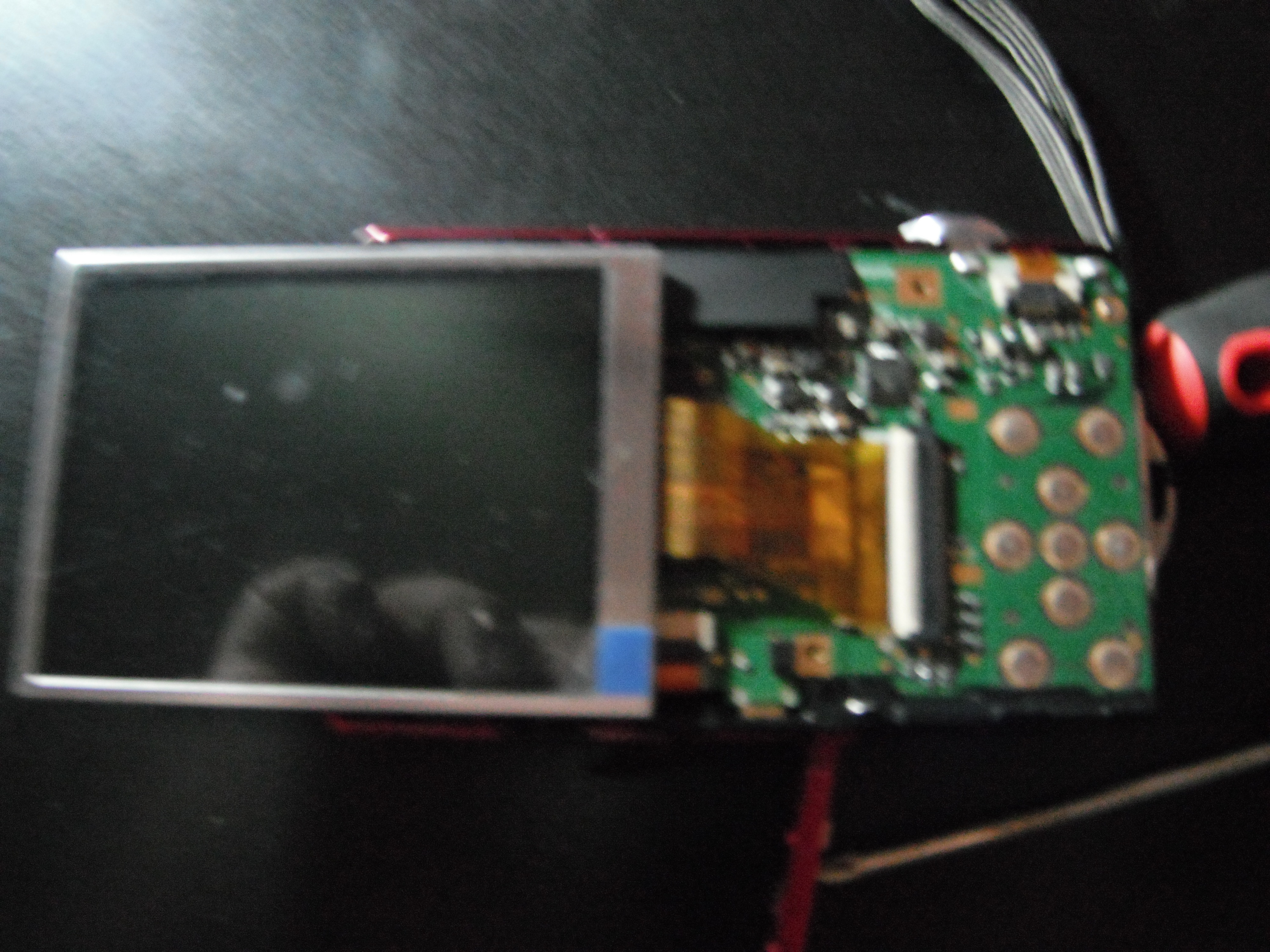 Picture of Insert New LCD Ribbon