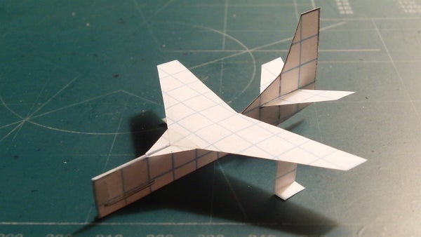 How to Make the StarDragon Paper Airplane