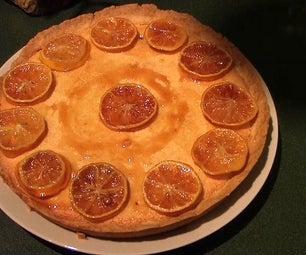 Almond and Lemon Tart.