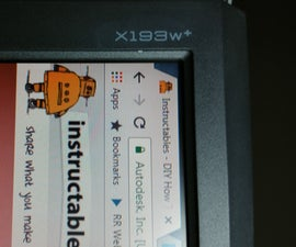 Repairing an Acer X193W+ LCD Monitor