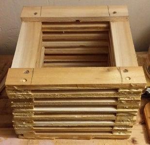 Box From Wood Shims Ver 3