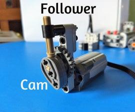 LEGO Technic Cam & Follower Build Instructions