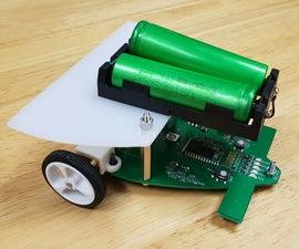 RUMI the LineFollowingRobot