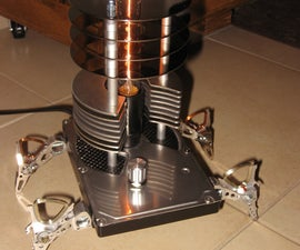 HDD recycled lamp