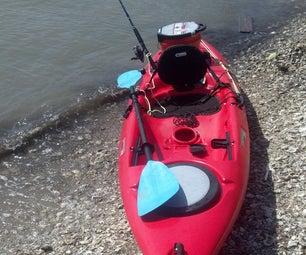Rigging Kayak Anchor Trolley
