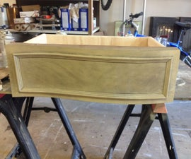 How to Reproduce a Curved Furniture Drawer
