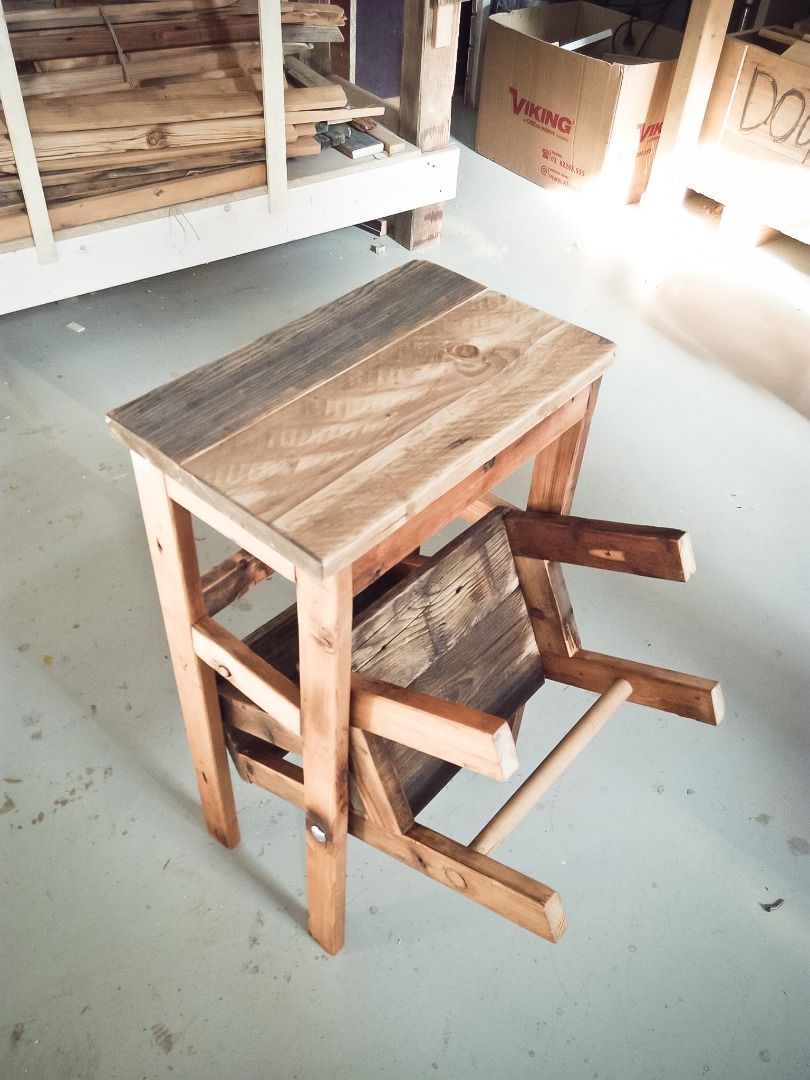 Picture of Foldable Stool-step Realisation