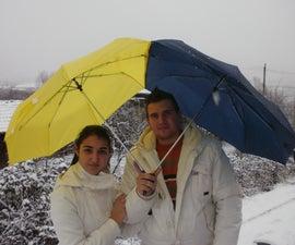 Happy Couple's Umbrella