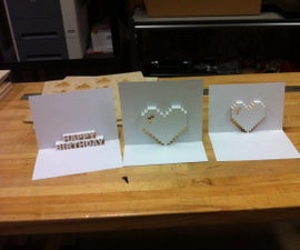 Popup Cards With Laser Cutter