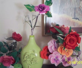 Roses From Soft Drink Cans