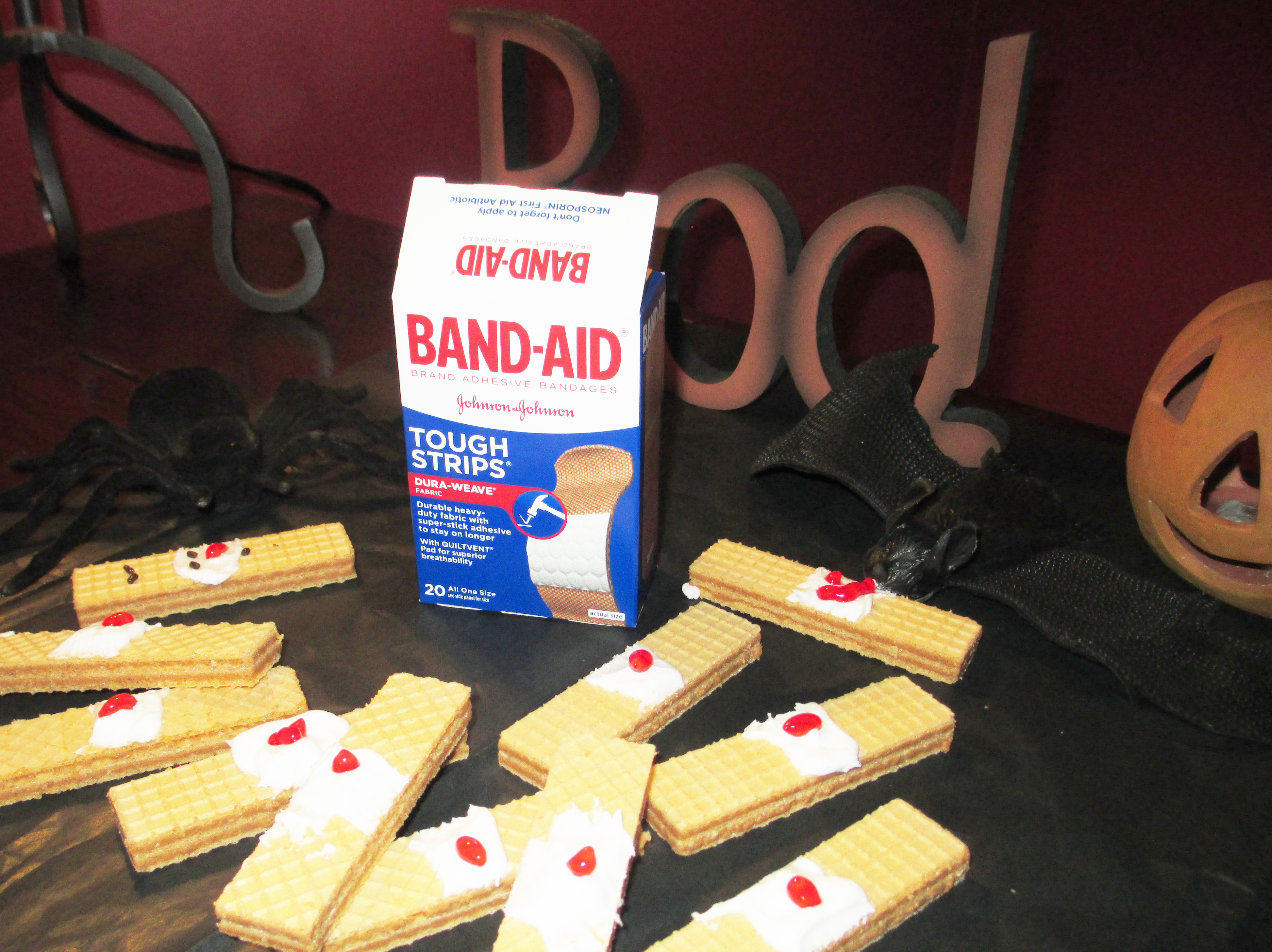 Picture of Bloody Band-Aids Are Served
