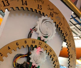 Ticking Gear Clock