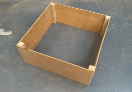 Repeat This Step Four Times to Create a Box.