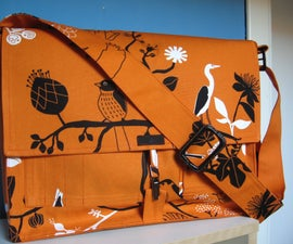 Bags with Ikea fabrics