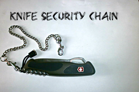 Knife Security Chain