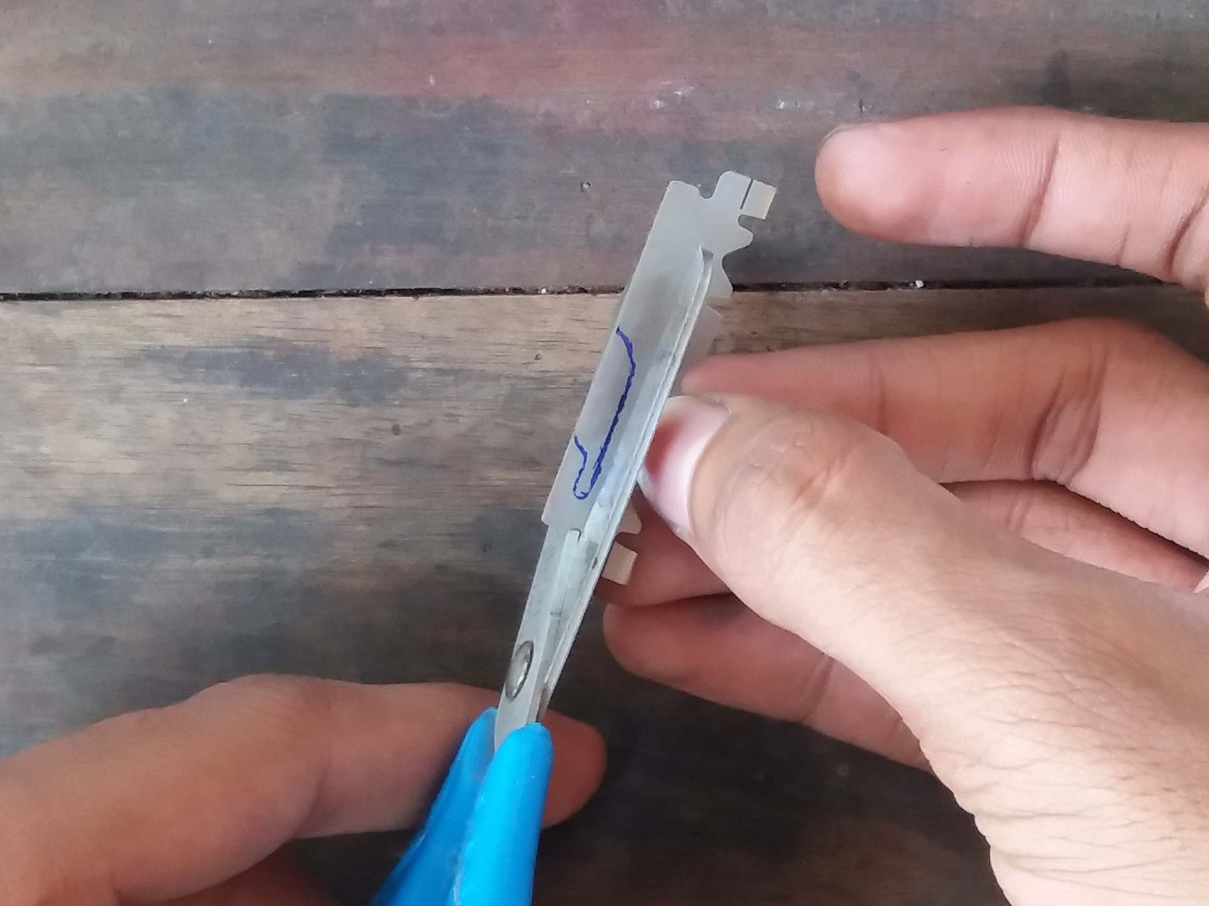 Picture of Draw and Cut the Blade
