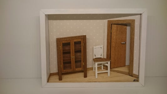 Roombox in Paper or Wood Using My Template