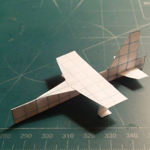 How to Make the Super SkyManx Paper Airplane