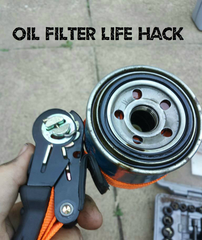Picture of Oil Filter Life Hack